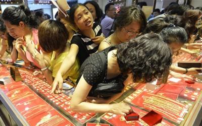 春节中国黄金需求激增支撑着金价