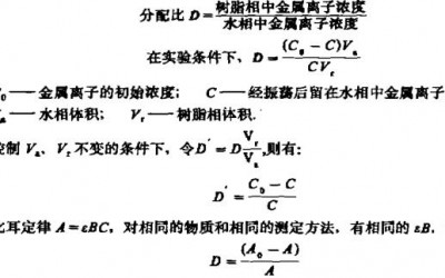 阳离子交换法分离富集铂钯铑铱(二)